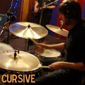 Cursive Live At Luxury Wafers