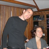 Renee and Jeremy at Chessvolt Recording Studio for Luxury Wafers