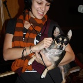 Gaby Moreno during her live Luxury Wafers video session at Chessvolt Recording Studio in Los Angeles