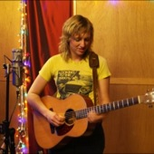 Ana Egge playing live at Chessvolt Recording Studio during an exclusive session for Luxury Wafers